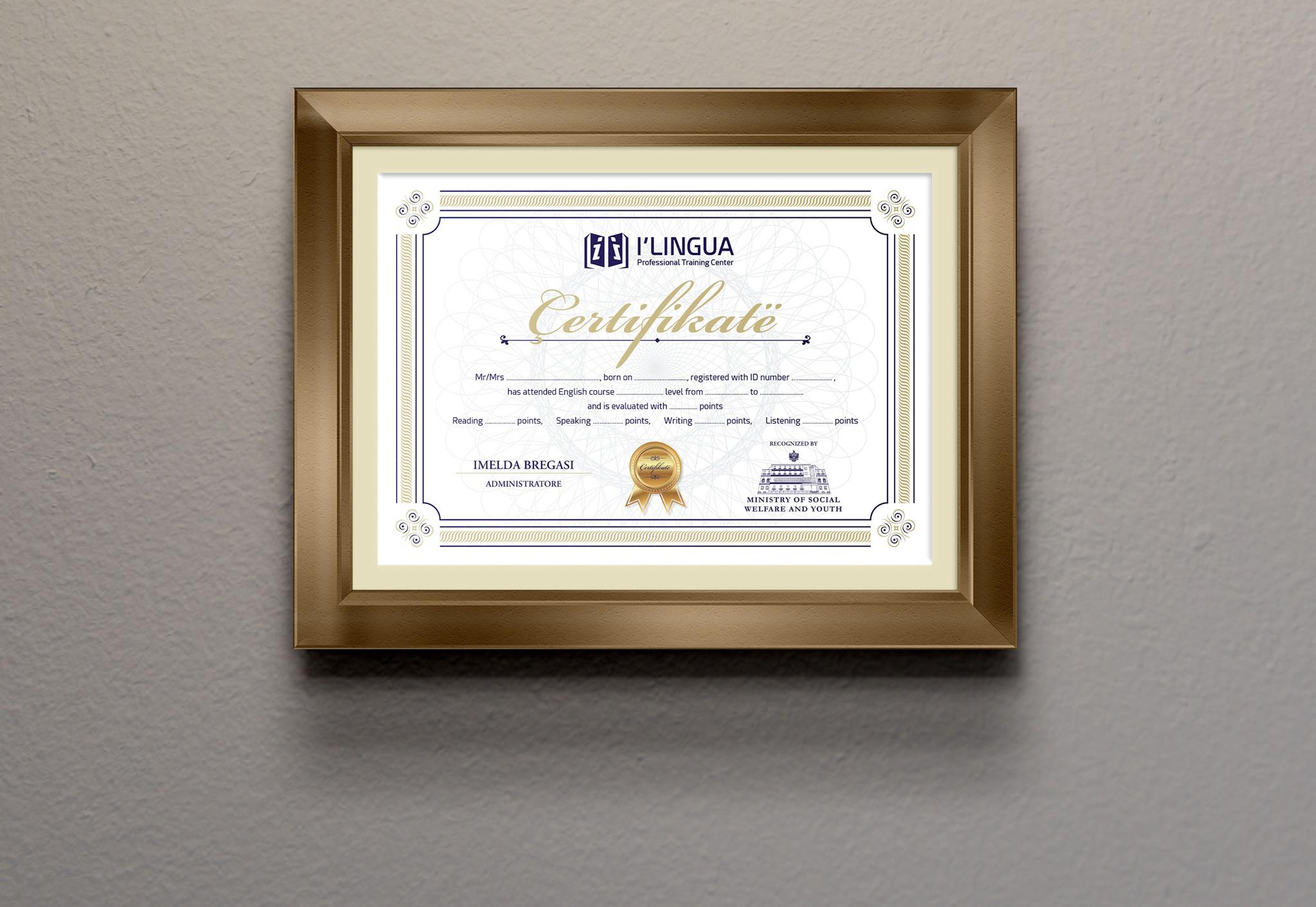 Çertifikata & Diploma